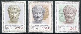Grecia 2016 Correo 2819/21 2400A Nacimiento Aristoteles (3v)  **/MNH - Ongebruikt