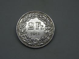 Moneta Coins 2 Franc Switzerland 1913 B - Franchi Svizzeri - Svizzera