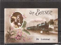 Lommel  Un Baiser De Lommel  ( Fantasie - Gekleurd !!! ) - Lommel