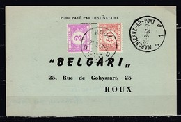 Kaart Van Roux Port Paye Par Destinataire - Taxes