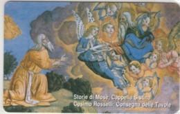 SCHEDA TELEFONICA NUOVA VATICANO SCV143 MOSE CONSEGNA DELLE TAVOLE - Vaticano
