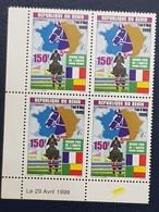 BENIN 1999 150 F BLOCK BLOC - GRAND PRIX AMITIE FRANCE AFRIQUE HIPPISM HIPPISME HORSES CHEVAL CHEVAUX HORSE - RARE MNH - Benin - Dahomey (1960-...)