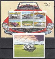 Zambia - Correo Yvert 781/6+H 47 ** Mnh  Autom�viles - Zambie (1965-...)