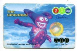 TK 17661 THAILAND - Prepaid - 12call - Thaïland