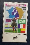 BENIN 1999 150 F  - GRAND PRIX AMITIE FRANCE AFRIQUE HIPPISM HIPPISME HORSES CHEVAL CHEVAUX HORSE - RARE MNH - Benin - Dahomey (1960-...)