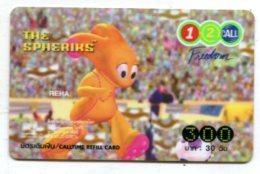 TK 17663 THAILAND - Prepaid - 12call - Thaïland