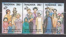 Tanzania - Correo Yvert 1741/3 ** Mnh  ONU - Tansania (1964-...)