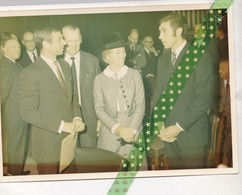 Patrick Sercu En Eddy Merckx, Originele Privéfoto Van Fred Hamerlinck (oud-renner 1927-37) 18cm/12,5cm - Cyclisme