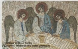 SCHEDA TELEFONICA NUOVA VATICANO SCV69 LA TRINITA' - Vaticano