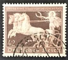 """1940 7.Rennen Um ,, Das Braune Band"""" In München Mi. 747 - Germany"""