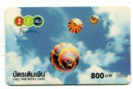 TK 17671 THAILAND - Prepaid - 12call - Thaïland
