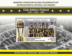 Armenia Arménie Armenien 2019 Mi 1135 Sport Football FIFA Club World Cup Penarol Uruguay Centenario MNH** - Armenië
