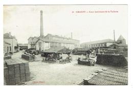 71 SAONE ET LOIRE CHAGNY Cour Intérieure De La Tuilerie - Chagny