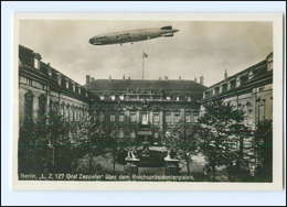 XX005859/ Berlin LZ 127 Graf Zeppelin über Dem Reichspräsidentenpalais Foto AK  - Allemagne