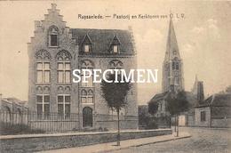 Pastorij En Kerktoren Van O.L.V - Ruiselede - Ruiselede