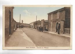 ALGERIE - MAC-MAHON - Entrée Du Village. Carte  Colorée - Autres Villes