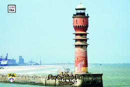 Set 6 Cartes Postales, Phares, Lighthouses Of Europe, France, Dunkerque, Feu De Saint-Pol - Vuurtorens