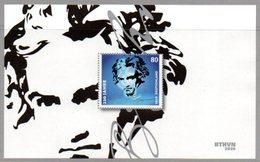 """Deutschland Mi. 3510 Block 85** """"250. Geburtstag Von Ludwig Van Beethoven"""" Postfrisch - Ungebraucht"""