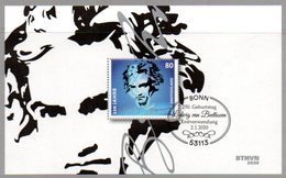 "Deutschland Mi. 3510 Block 85 ""250. Geburtstag Von Ludwig Van Beethoven"" ESST-gestempelt - BRD"