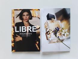 "YSL  ~~ ""  LIBRE  "" Petite Carte Double  ** Photo R/V   !! - Modernas (desde 1961)"