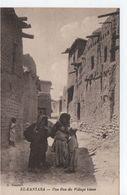 El Kantara- Une Rue Du Village Blanc - Argelia