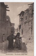 El Kantara- Une Rue Du Village Blanc - Andere Steden