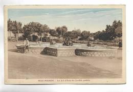 ALGERIE - MAC-MAHON -  Le Jet D' Eau Du Jardin Public. Carte  Colorée - Algérie