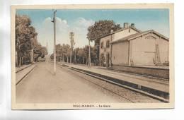 ALGERIE - MAC-MAHON -  La Gare. Carte  Colorée - Algeria