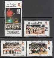 Brunei - Correo Yvert 409/12 ** Mnh  D�a Nacional - Brunei (1984-...)