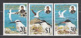 Brunei - Correo Yvert 519/21 ** Mnh  Fauna Aves - Brunei (1984-...)