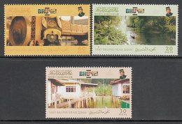 Brunei - Correo Yvert 589/91 ** Mnh - Brunei (1984-...)