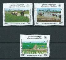 Camboya - Correo Yvert 1281/3 ** Mnh - Camboya