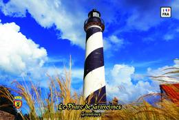 Set 6 Cartes Postales, Phares, Lighthouses Of Europe, France, Gravelines, Le Phare De Gravelines - Vuurtorens