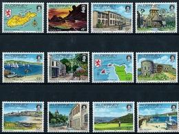 AURIGNY - N° 1 A 12 - NEUF** - Alderney