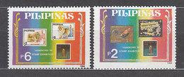 Filipinas - Correo 1994 Yvert 2059/60 ** Mnh  Expo Filat�lica - Philippines