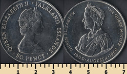 Falkland Islands 50 Pence 1980 - Falkland Islands