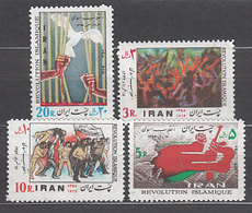 Iran - Correo 1979 Yvert 1755/8 ** Mnh Revoluci�n Islamica - Iran