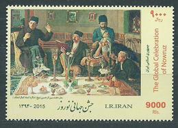 Iran Correo 2015 Yvert 3023 ** Mnh Nuevo A�o - Irán