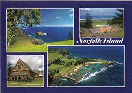 1 AK Norfolk Island Zu Australien * Kingston, Arthurs Vale Historic And Area Barnabas-Kapelle 2010 UNESCO Weltkulturerbe - Norfolk Island