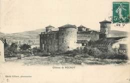 CPA 63 Puy-de-Dôme Le Chateau De Péchot - Autres Communes