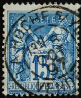 -Sage N°90 Type Ll. O .(CAD )  LA ROCHE S/YON 8 OCT 1897. - 1876-1898 Sage (Type II)