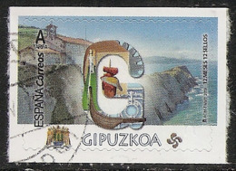 2019-ED. 5283 - 12 Meses, 12 Sellos. Gipuzkoa -USADO- - 2011-... Used