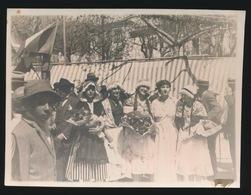 VENCE - FETES PROVENCALES 1927  PHOTO  11 X 8.5 CM    -  2 SCANS - Vence