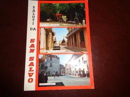 B748  San Salvo Chieti Viaggiata Pieghe Angoli - Italia