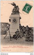 THOUARS MONUMENT ELEVE A LA MEMOIRE DES COMBATTANTS  1870-1871 1908 TBE - Thouars
