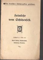 (Allemagne) Plaquette  Petite Pièce De Théâtre HEINFEHR VOM SCHüSENFEFT (PPP11488) - Theatre & Scripts