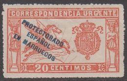 1915. MARRUECOS. PROTECTORADO / ESPAÑOL / EN MARRUECOS. 20 CENTIMOS URGENTE. (MICHEL 28) - JF317953 - Spanish Morocco