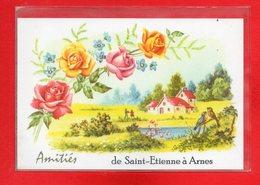 08-CPSM SAINT ETIENNE A ARNES - France