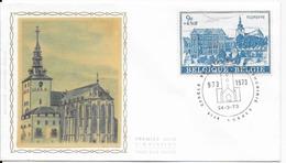 Enveloppe FDC 1973  Jaunie Au Verso - FDC