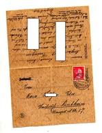 Lettre Carte Cachet Teningen Sur Hitler - Deutschland